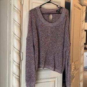 Slouchy express sweater.